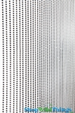 Ballchain Faux Metal Beaded Curtain - Gunmetal - 3' x 6'