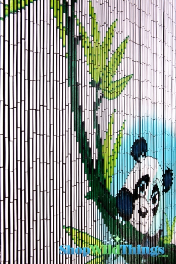 Panda Bear Curtains Panda Bear Hanging From Bamboo