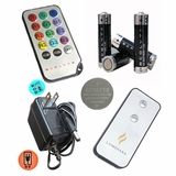 Batteries , Adapters, Remotes