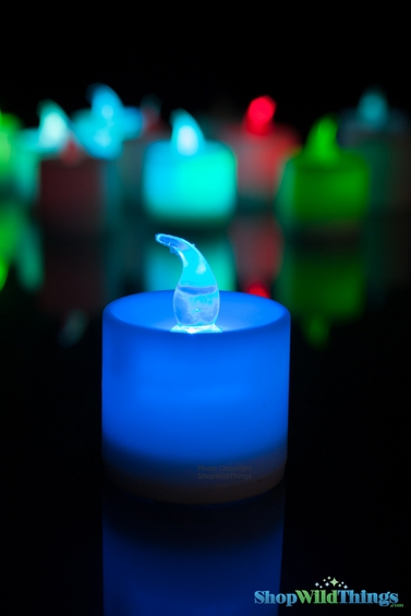Led Color Changing Votive Candles Set Of 12 Cheap Party
