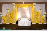 Beaded Columns and Curtains - Mandaps