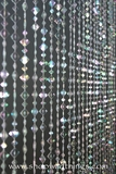 Mackenzie Beaded Curtain - Crystal Iridescent - 3 ft x 6 ft