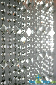 Hand Strung High Grade Acrylic Beaded Curtains & Strands - 70+ Choices