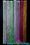 "Beaded Streamer Tassels  Baby  - Assorted Colors 40""  Long"