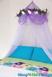 Bed Canopies, Mosquito Net Canopies - <BR>DOZENS of Styles!