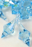 """Bijou""  Crystal Acrylic Pendants - Light Blue - Bag of 130pcs"