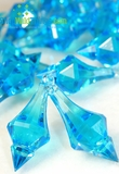 """Bijou"" Crystal Acrylic Pendants - Turquoise - Bag of 130pcs"