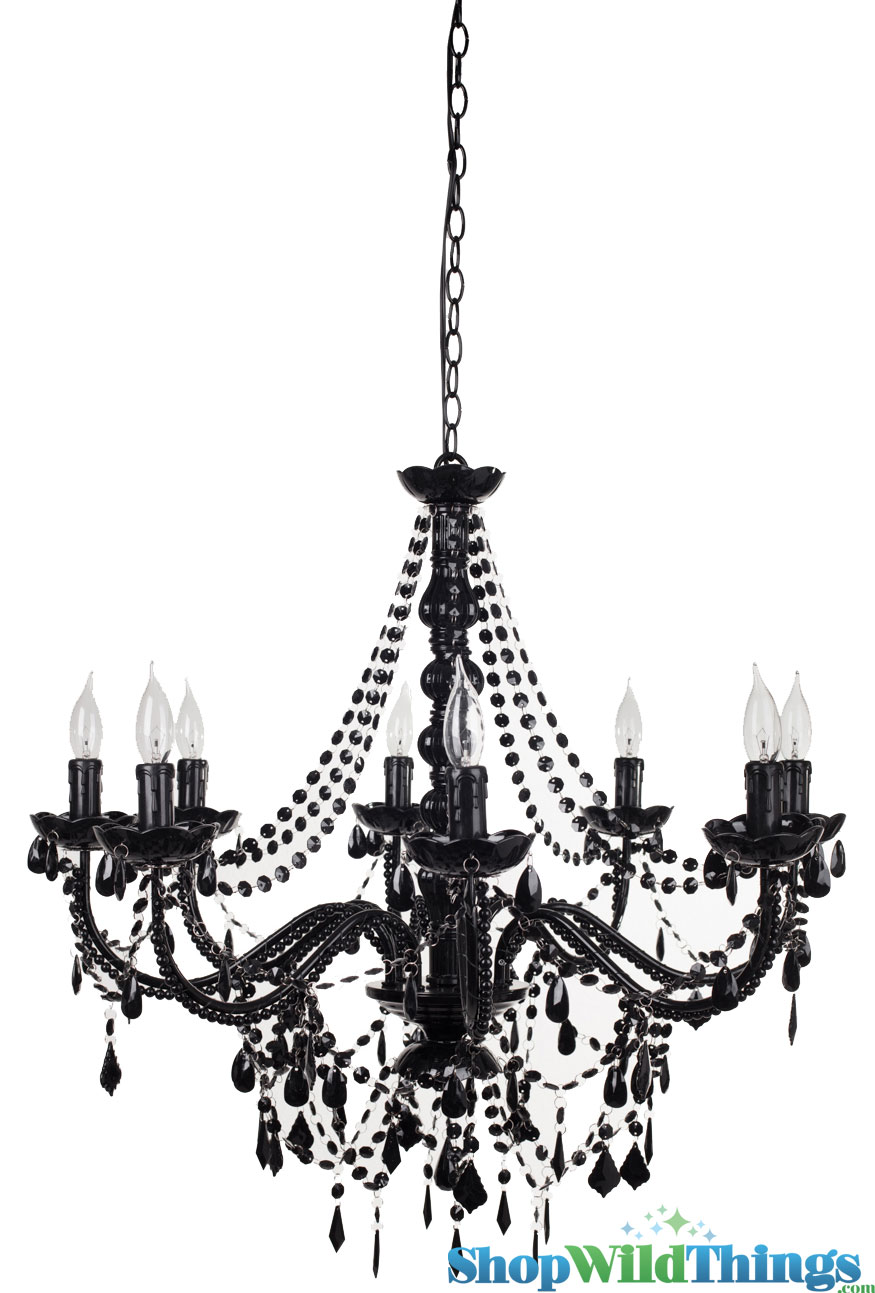 Black Hanging Chandelier