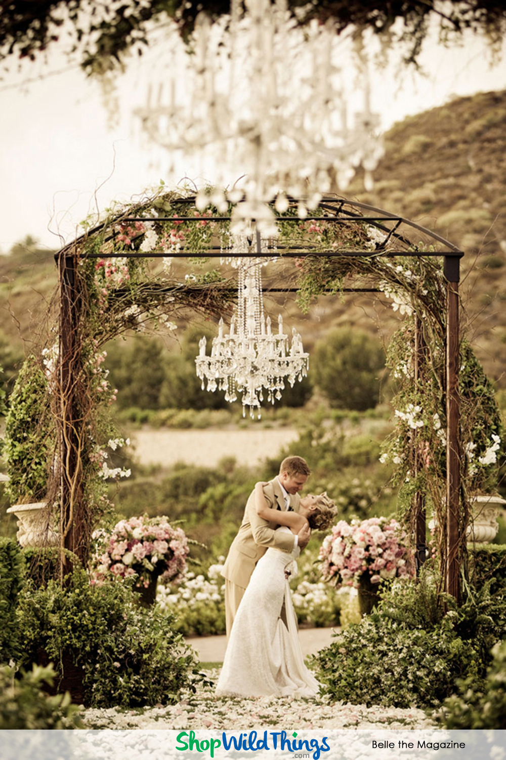 BLOG! Chandeliers as Reception Focal Points
