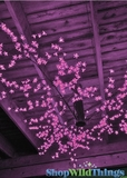"Blossom LED Ceiling Tree Pink 60"" X 60"""