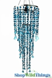 Chandelier - Diamante Duo Delight - Deep Ocean Blue