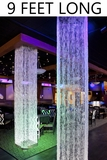 Brilliant  Square Crystal Non-Iridescent Column - 9 Feet Long - as low as $109.99