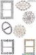 Brooches & Buckles & Napkin Rings