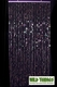Bubbles Beaded Curtain - Purple- 3 ft x 6 ft