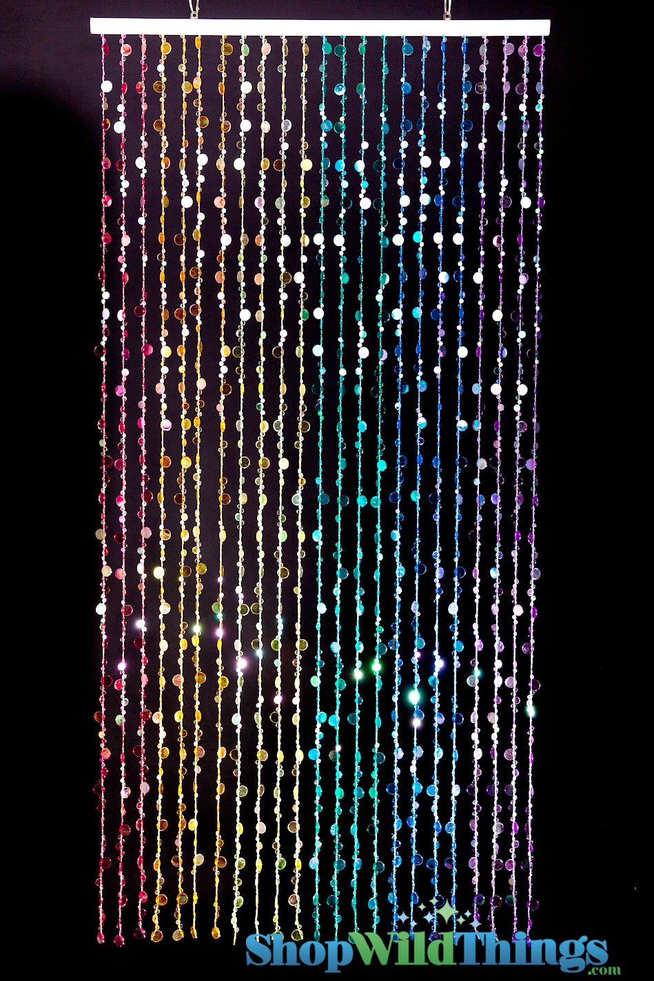 Bubbles Beaded Curtains Rainbow Shopwildthings Com