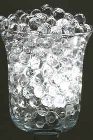 BULK Water Pearls - Jelly Decor - Water Crystal Beads - Small Beads Makes 14 Gallons (2 Bulk Colors Available)