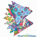 Bunting -  Paper Triangle -  Summer - 11 Feet Long