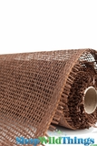 "Burlap Mesh - Brown 21"" x 5 Yards"