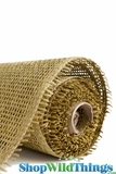 "Burlap Mesh - Moss Green 21"" x 5 Yards"