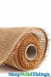 "Burlap Mesh - Natural 21"" x 5 Yards"