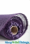 "Burlap Mesh - Purple 21"" x 5 Yards"