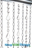 Chain Curtains - Cameo - Custom or Ready-Made (Crystals Optional)