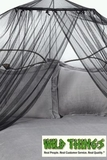 "Canopy - ""Dreamy"" Mosquito Net Bed Canopy - Black"