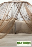 Canopy -  Dreamy  Mosquito Net Bed Canopy - Brown
