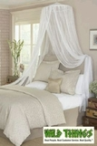 "Canopy -  ""Dreamy"" Mosquito Net Bed Canopy - White"