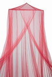 "Canopy ""Megan"" Deep Red  Mosquito Net"