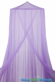"Canopy ""Megan"" Purple  Mosquito Net"