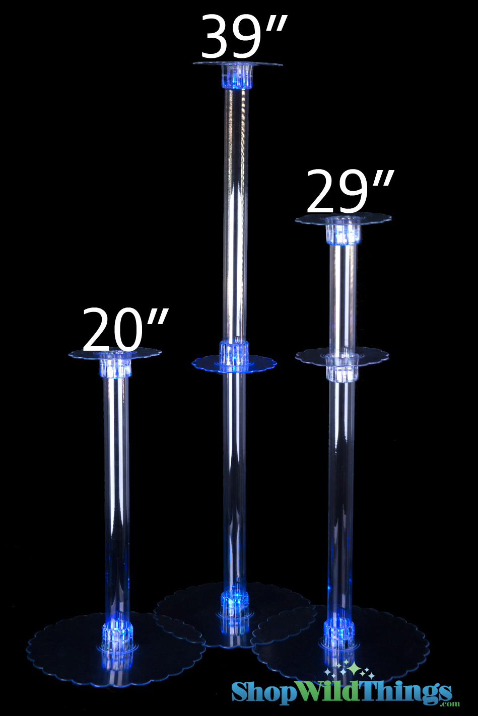 "Centerpiece Riser - ""The Boost"" - 20"" Tall (Use to Elevate Your Displays!)"