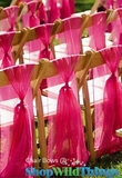 Chair Bows , Chair Sashes, Table Runners