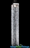 "Chandelier  ""Amelia""  4' of Emeralds (Transformers 3 & Fantastic 4!)"