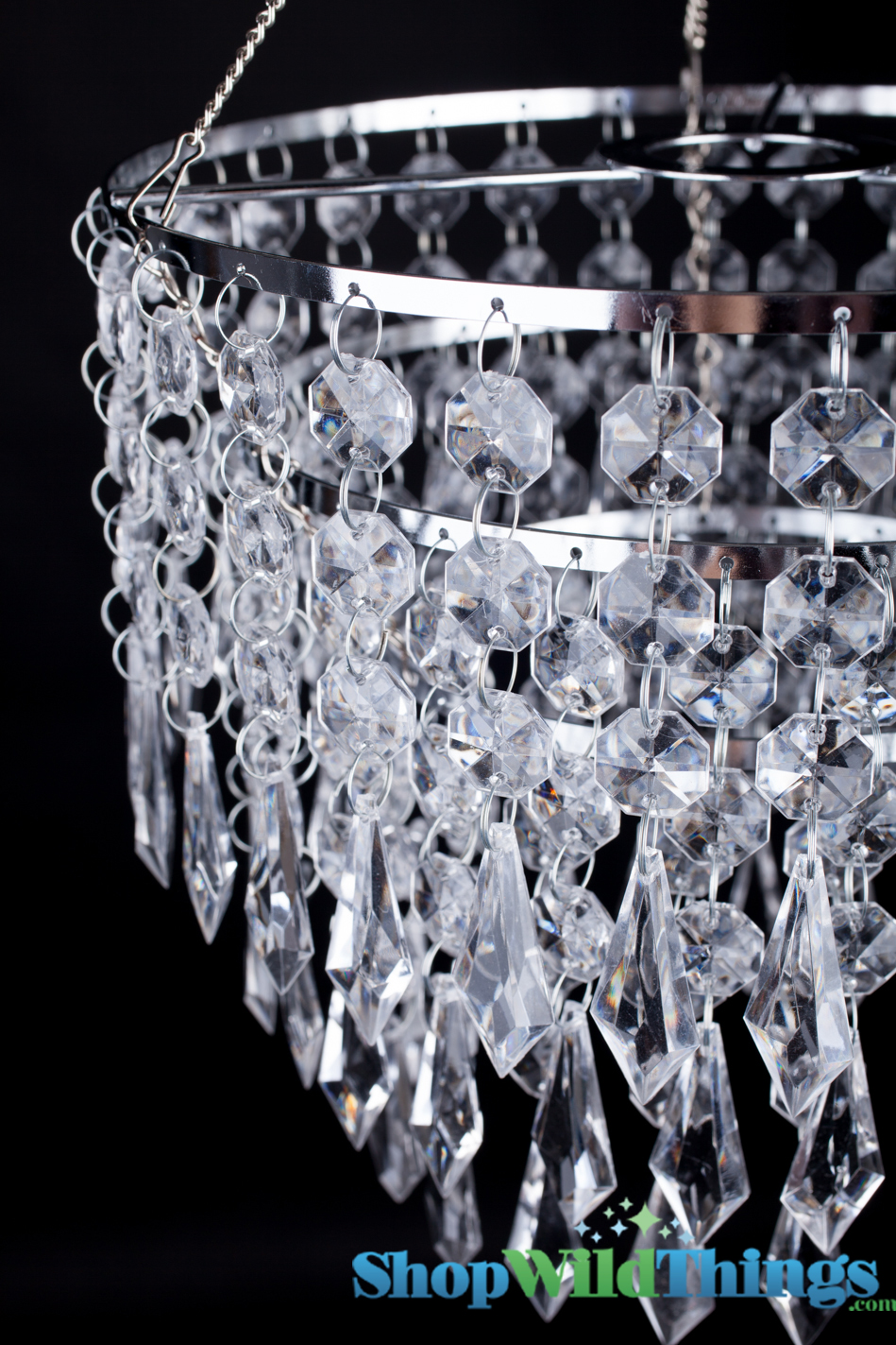Crystal Three Tiers Chandelier Weddings And Parties
