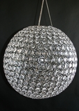"Chandelier ""Ayanna"" Sphere - Large 20"" Diameter (Or Use On Tables!) - Transformers 3 Movie!"
