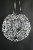"Chandelier ""Ayanna"" Sphere - Small 9"" Diameter (Or Use On Tables!)"