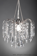 "Chandelier "" Bejeweled "" Clear Crystal"