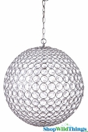 "Chandelier ""Crystal Sphere"" 20"" Diameter"