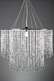 "Chandelier Dazzle - Crystal Iridescent - 24"" Diameter"