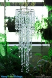 Chandelier - Diamante Duo Delight - Sea Glass