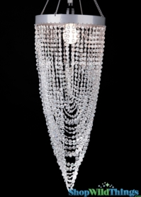 Chandelier Diana - Diamond Twist - Crystal Iridescent