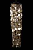 "Chandelier ""Fabulous"" Square 4' Long Light Gold"