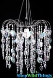 "Chandelier  ""Fountain""  Crystal (Shop Etc. Magazine)"