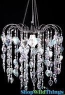 Chandelier Fountain - Crystal Iridescent