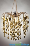 "Chandelier  ""Fountain""  Gold"