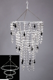 "Chandelier Metal Frame - ""Triple Decker"""