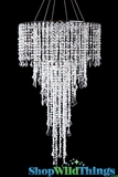 Chandelier SET Anastasia - Crystal Iridescent