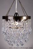 Chandelier, The Crystal Drop, 3 Tiered