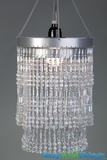 "Chandeliers ""Ashley"" 2 Tier-<BR><B>5 Colors Available</B>"